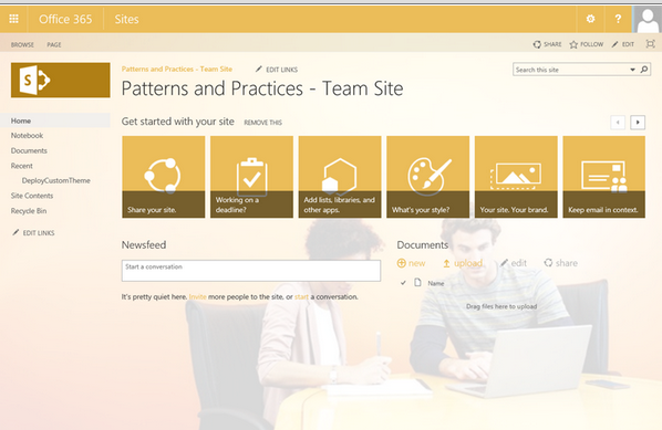 O365 Patterns and Practices SharePoint Add-in Model Recipe Articles