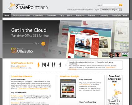 SharePoint.Microsoft.com 2010 Farm Upgrade