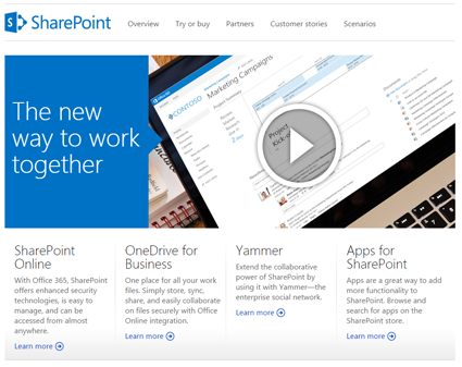 Managed Services for Microsoft SharePoint Site